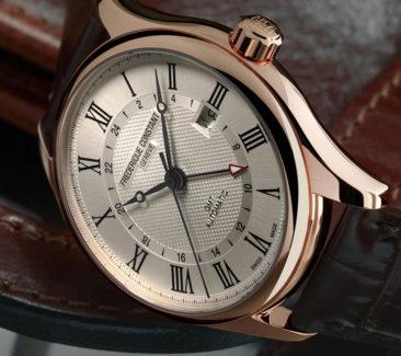Stilvoll reisen mit der Frederique Constant Classics Automatic GMT