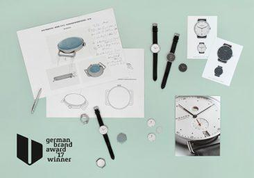 NOMOS Glashütte erneut mit dem German Brand Award ausgezeichnet