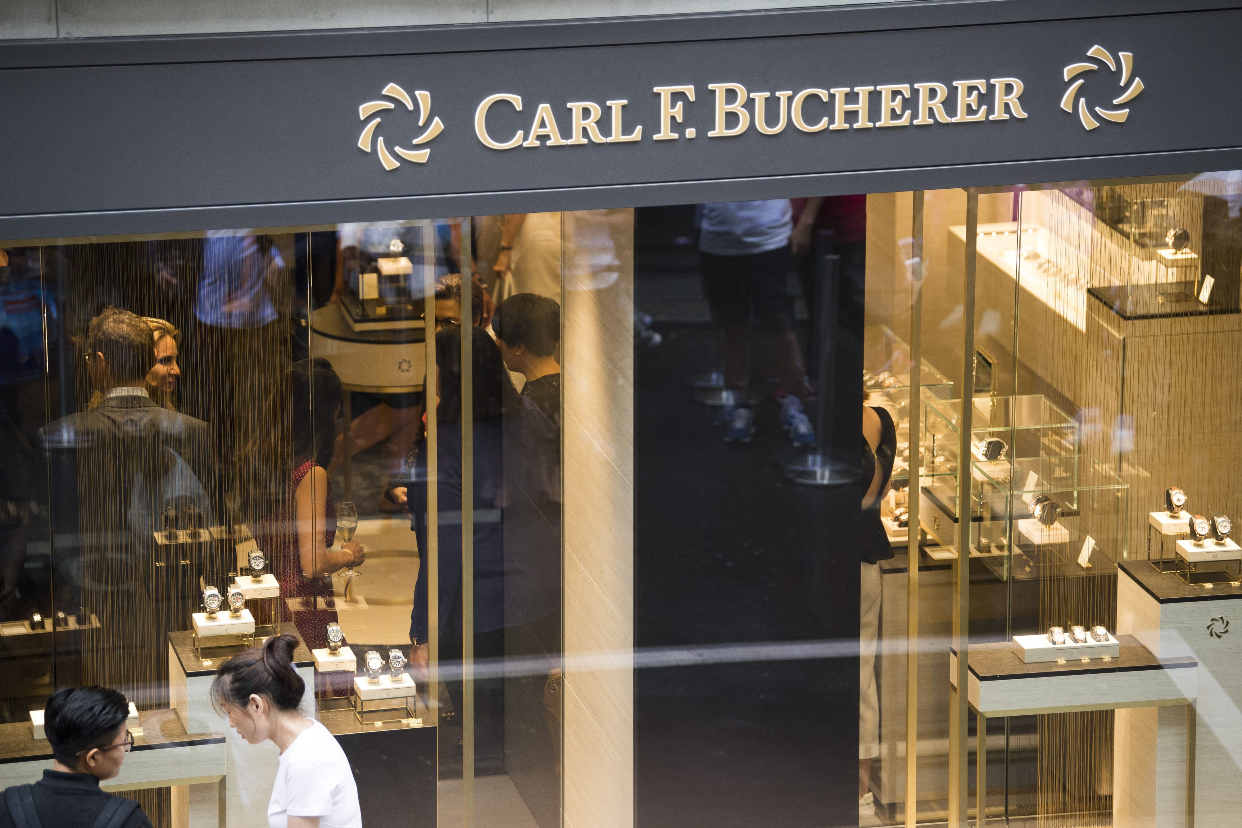 Carl F.Bucherer-Boutique in Luzern
