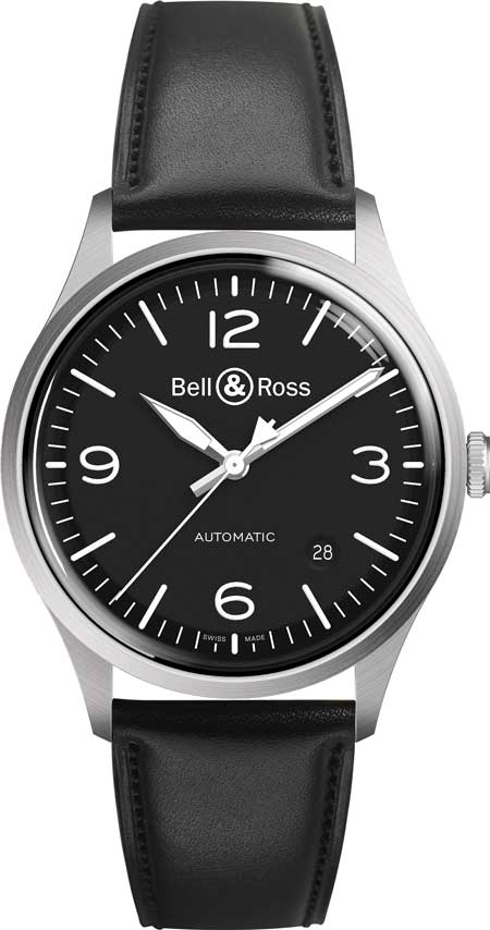 Bell&Ross-BR-V1-92-BlackSteel aus der Bell & Ross Vintage-Kollektion