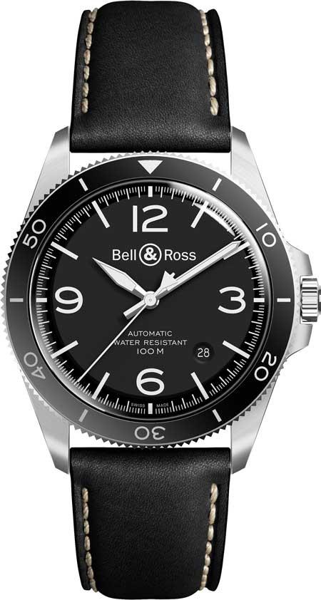 Bell&Ross-BR-V2-92-BlackSteel aus der Bell & Ross Vintage-Kollektion