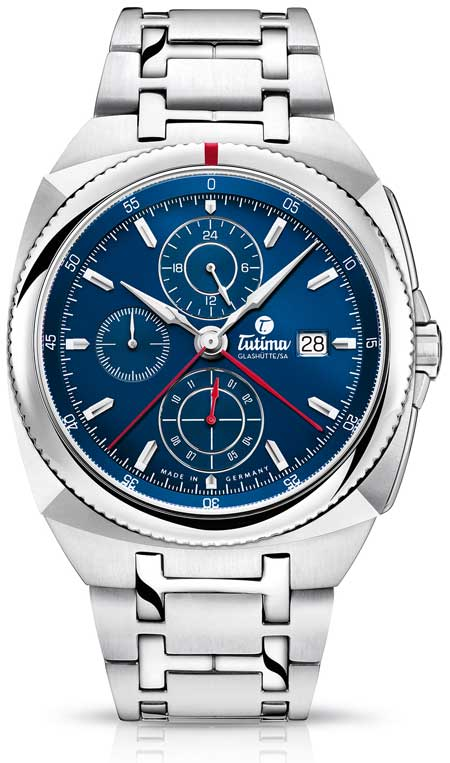 Tutima-Saxon_One_Royal Blue Chronograph