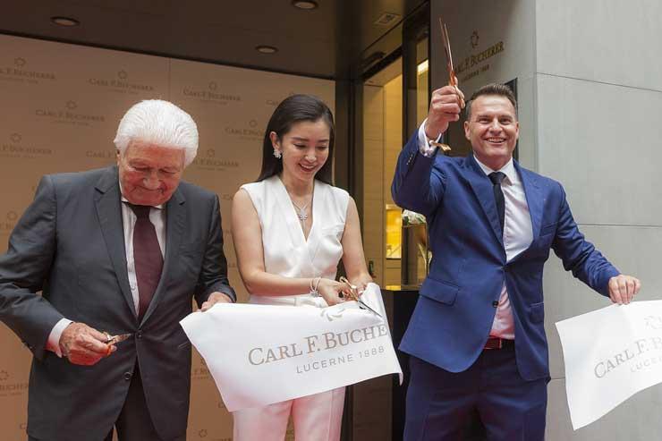 Carl-F.Bucherer-Eröffnung Boutique Luzern