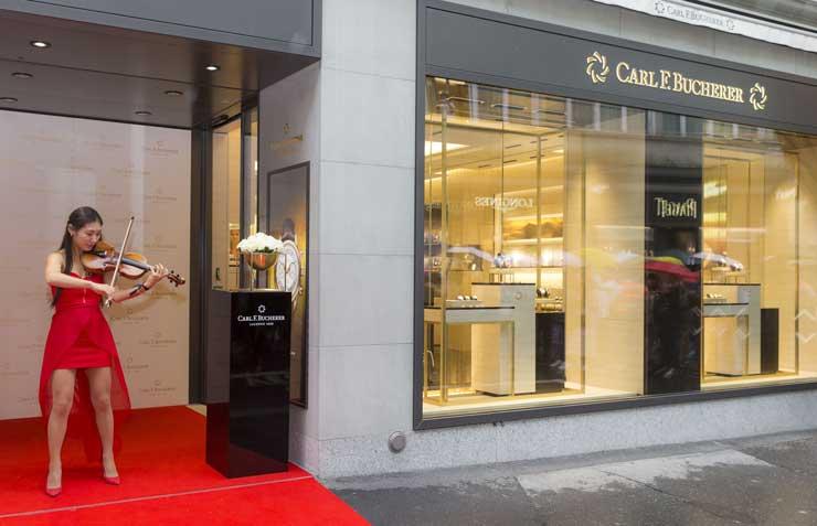 Back to the roots: exklusive Carl F. Bucherer-Boutique in Luzern eröffnet