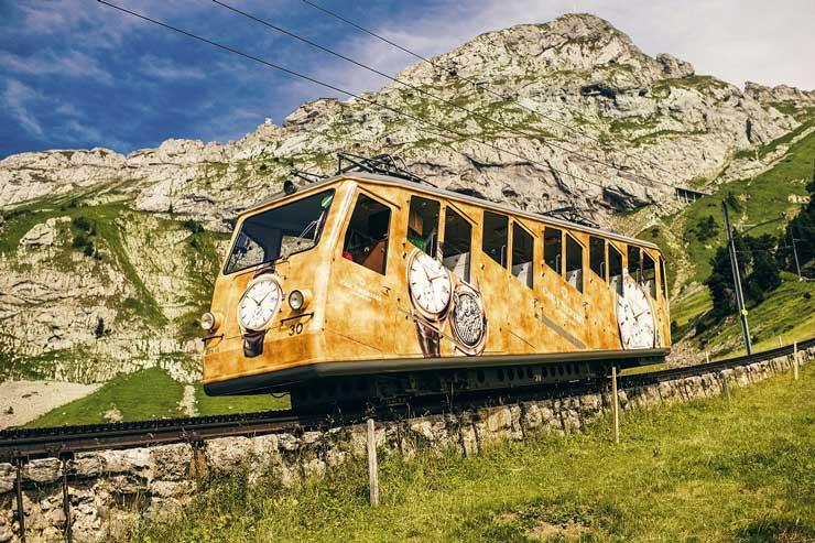 Carl F.Buchderer Kooperation Pilatusbahn