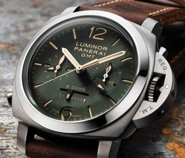 Drei neue Panerai Boutique-Modelle: Die Panerai Green Dial-Kollektion