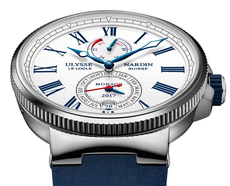 Ulysse Nardin Marine Chronometer Annual Calendar Monaco in Limited Edition