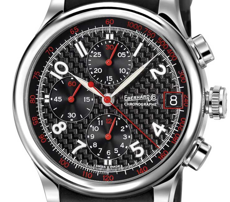 Im Racing-Look: Der Traversetolo Chrono von Eberhard & Co