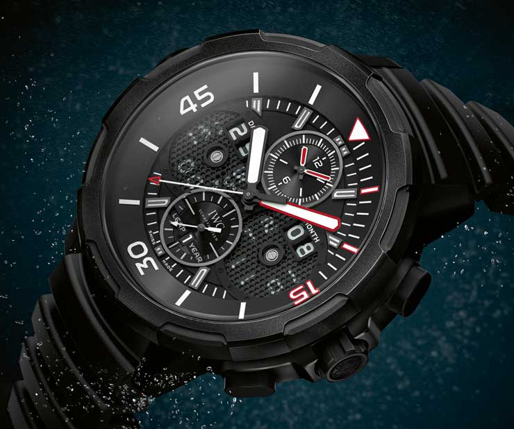 IWC Aquatimer limited Edition 50 Years Aquatimer Ceratanium