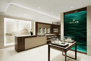 In bester Lage: Rolex Boutique Wempe Hamburg eröffnet