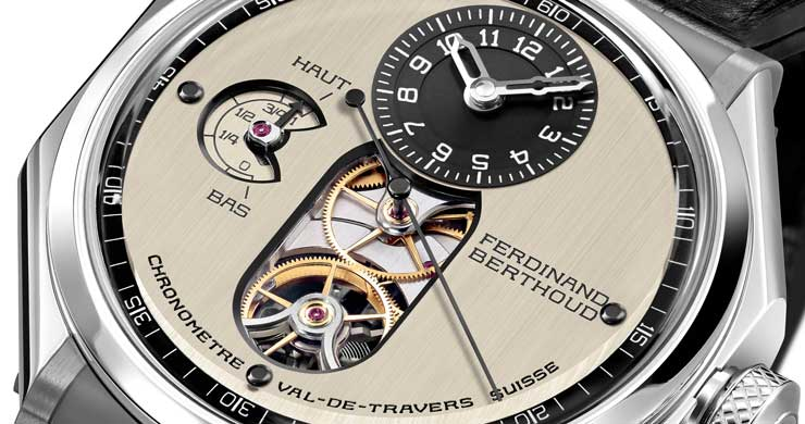 Chronomètre Ferdinand BerthoudFB 1.3 Detail