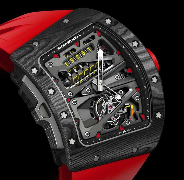 Exklusiver Zeit- und Kilometermesser: RM 70-01 Tourbillon Alain Prost