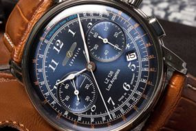Zeppelin LZ126 Chronograph Modell Los Angeles jetzt auch in blau