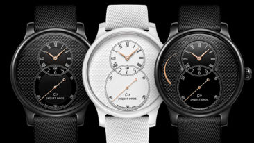 Jaquet Droz Grande Seconde Keramik Clou de Paris