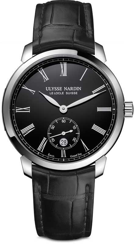 Ulysse Nardin Classico Manufacture black enamel