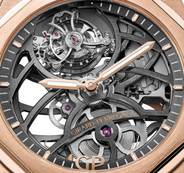 Zeit-Werk: Girard-Perregaux Laureato Flying Tourbillon Skeleton