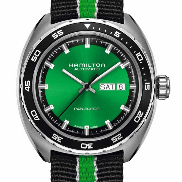 American Spirit: Hamilton Pan Europ Green Edition