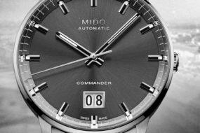 Zum Start ins Jubiläumsjahr: Mido Commander Big Date