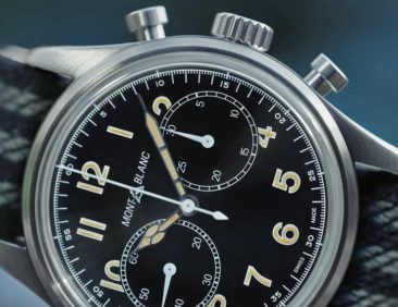 Der Montblanc 1858 Automatic Chronograph aus der 1858 Collection