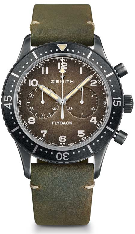 Zenith Pilot Cronometro Tipo CP-2 Flyback