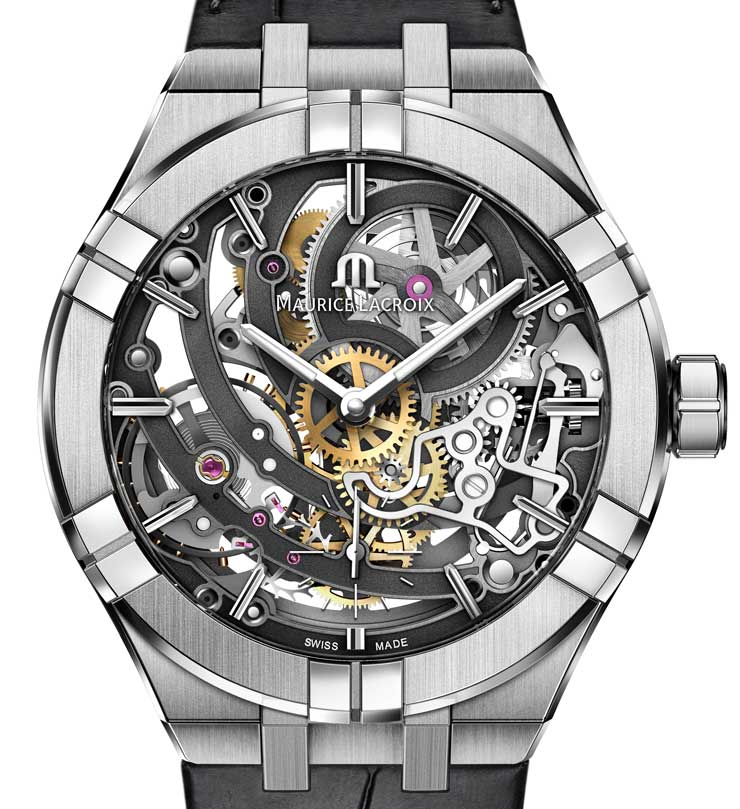 Baselworld Preview: Maurice Lacroix Aikon Automatic Skeleton