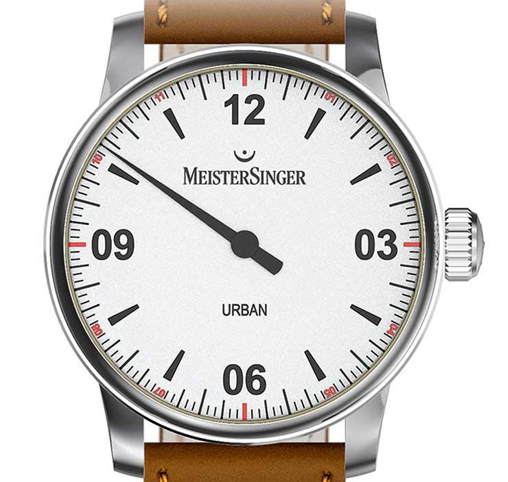 Einzeigeruhr für Einsteiger: Urban – MeisterSingers Stadtkind