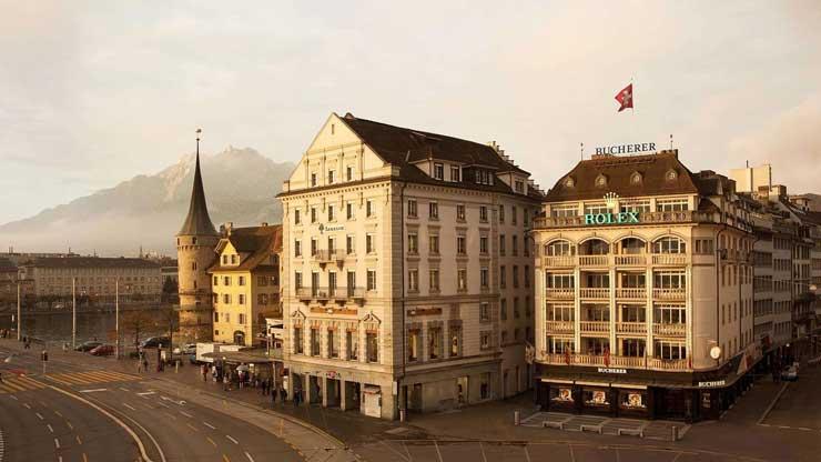Bucherer-Schwanenplatz.Luzern
