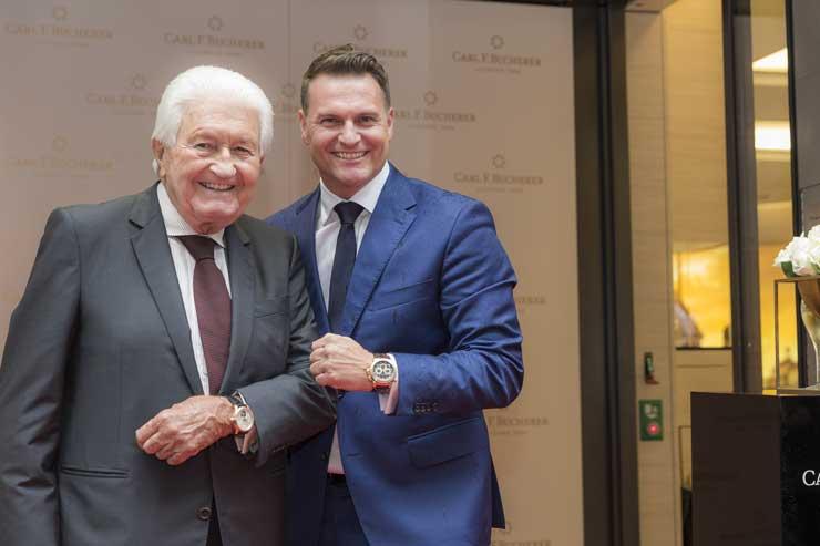 Jörg G. Bucherer und Sascha Moeri, CEO Carl F. Bucherer