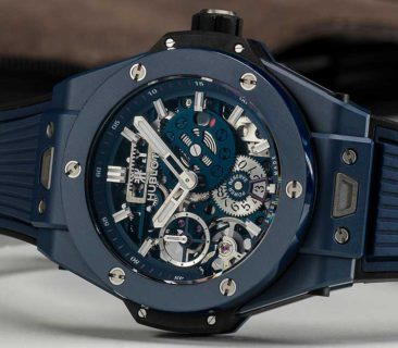 Baselworld Preview: Hublot Big Bang Meca-10 Blue Ceramic