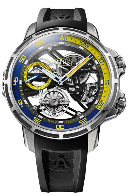 Angelus U50 Diver Tourbillon Caliber A 300