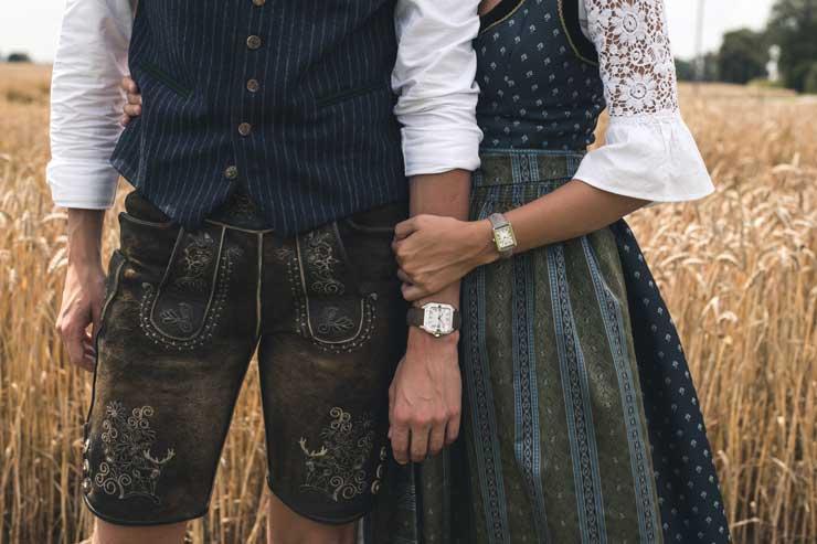 Cartier Armbänder im Trachtenlook