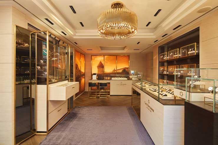 Carl F. Bucherer Monomarken-Boutique in Hong Kong
