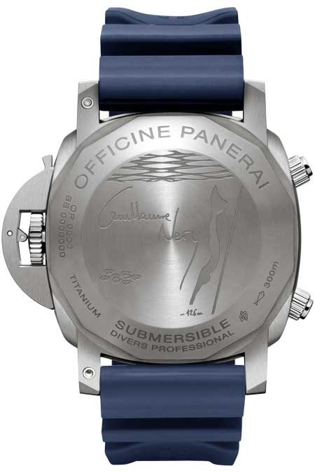 Paneria Submersible Chronograph Guillaume Néry Edition