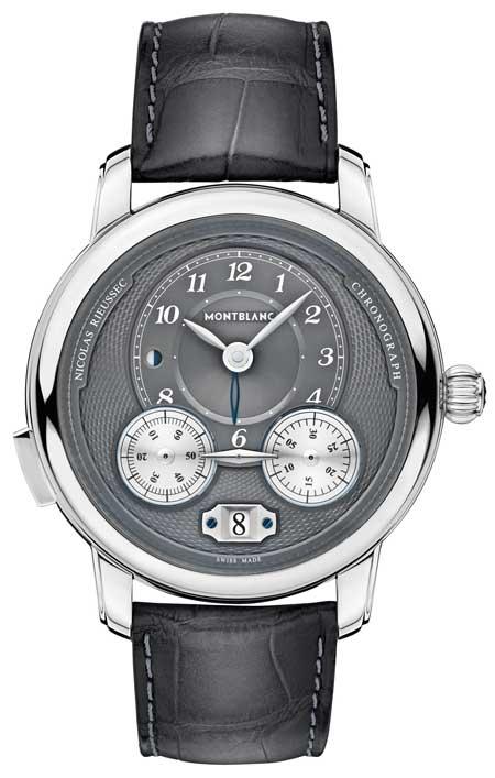 Montblanc Star Legacy Nicolas Rieussec Chronograph Steel ID 119954 EUR 7.450