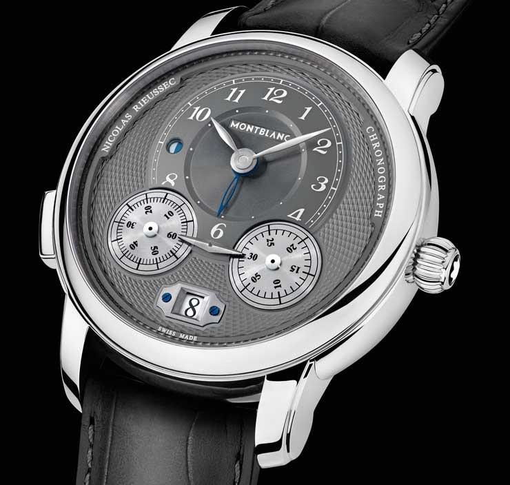Montblanc Star Legacy Nicolas Rieussec Chronograph Steel ID 119954 EUR 7.450_mood_black