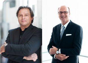 Doppelte Unternehmensspitze beiMeisterSinger: Manfred Brassler (links) und John van Steen (rechts)