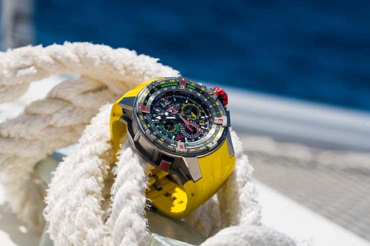 Richard Mille, Pierre Casiraghi und Les Voiles de St Barth