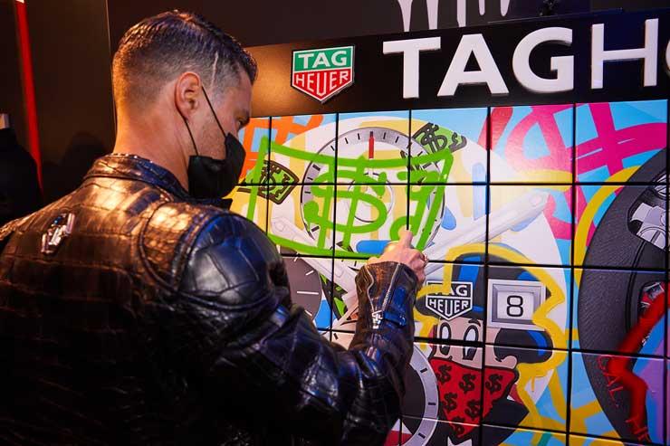 TAG Heuer feiert mit Art Provocateur Alec Monopoly