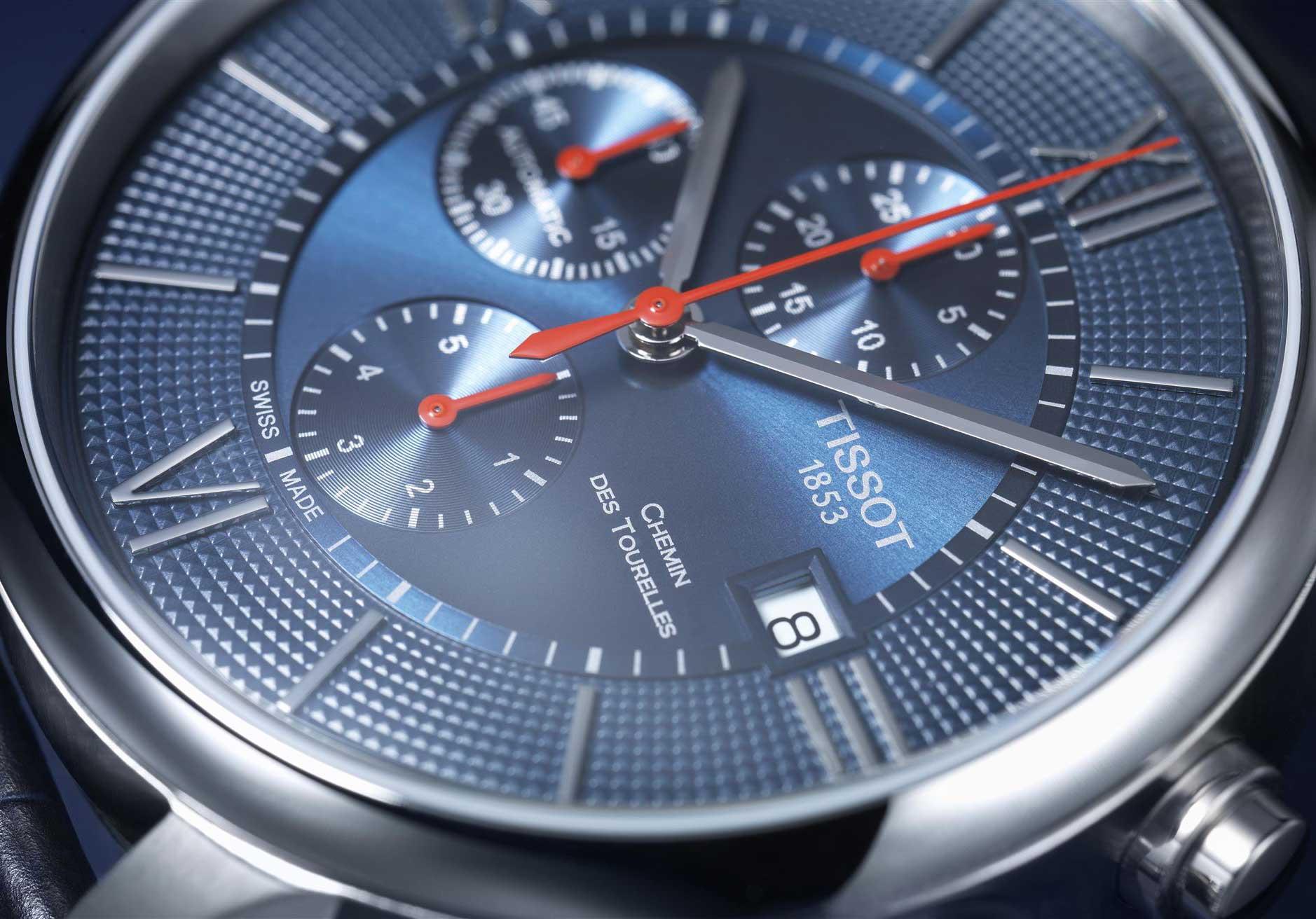 Bucherer Blue Editions Tissot Chemin des Tourelles Automatic Chronograph