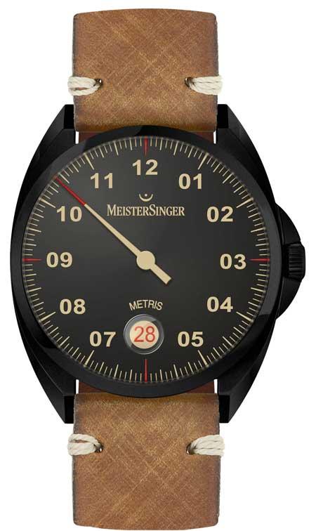 MeisterSingers Metris Black Line