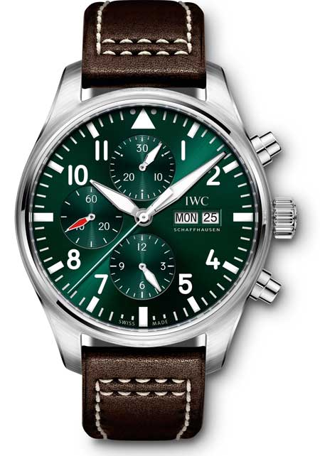 IWC Flieger-Chronograph limited Edition Racing Green