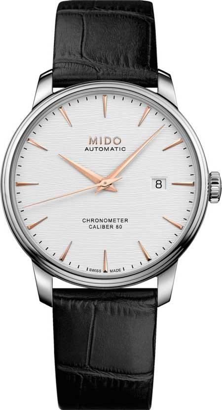 Mido Baroncelli Kaliber 80 Chronometer Silizium