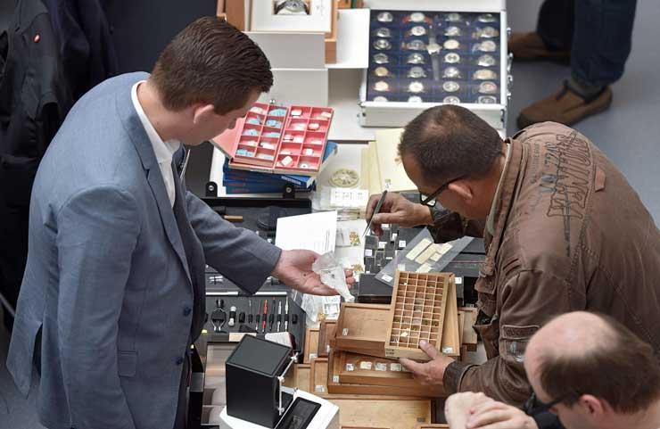 Glashütter Antik-Uhrenbörse am 19. Mai 2019: