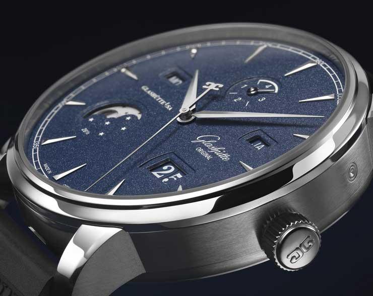 Senator Excellence Ewiger Kalender limited Bucherer Blue Editions