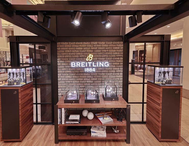 Breitling Pop Up-Store im KaDeWe_EG_2019_2_top