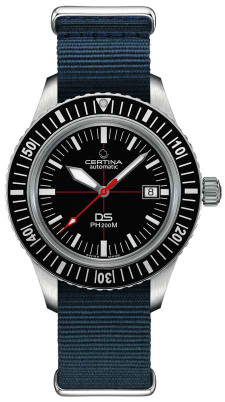 Certina DS PH200M mit Natoband