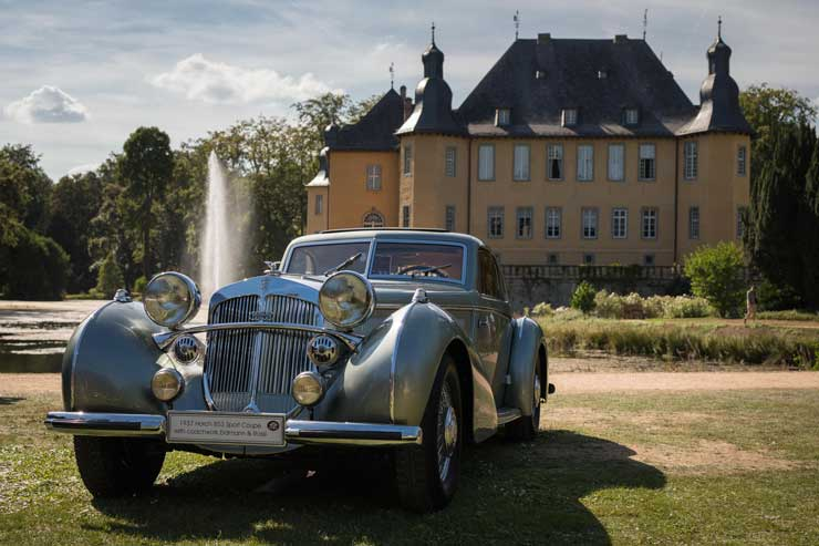 Lange & Söhne bei den Classic Days auf Schloss Dyck