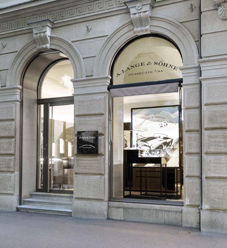 Lange & Söhne Boutique Bahnhofstraße Zürich