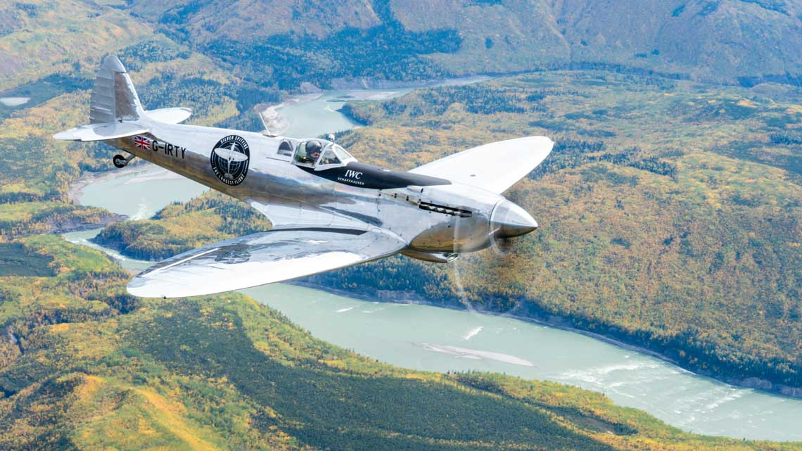 Silver Spitfire, the longest flight