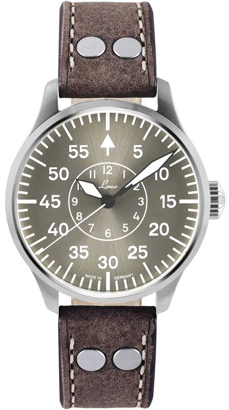 Laco Fliegeruhr Aachen Taupe